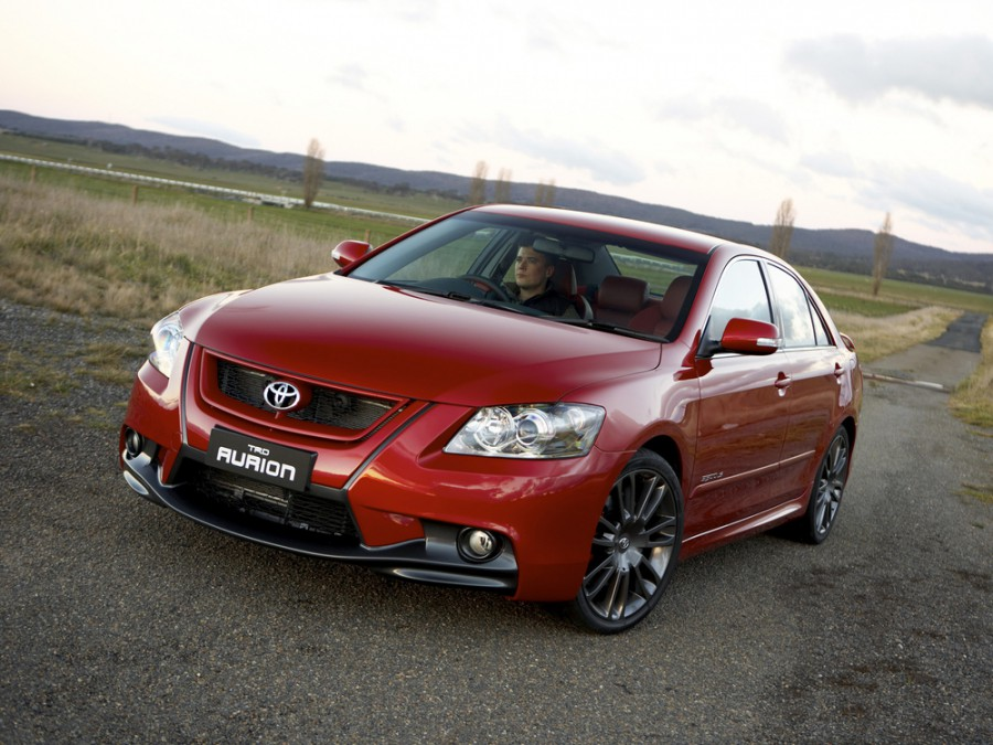 Toyota Aurion TRD седан 4-дв., 2006–2012, XV40 - отзывы, фото и характеристики на Car.ru