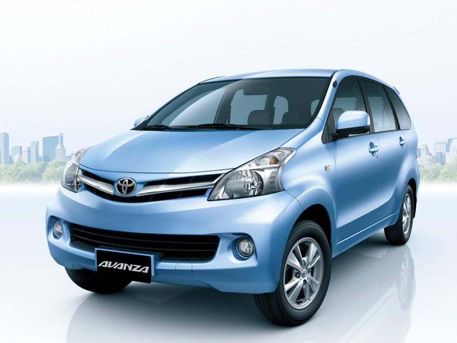 Toyota Avanza минивэн, 2012–2016, 2 поколение - отзывы, фото и характеристики на Car.ru