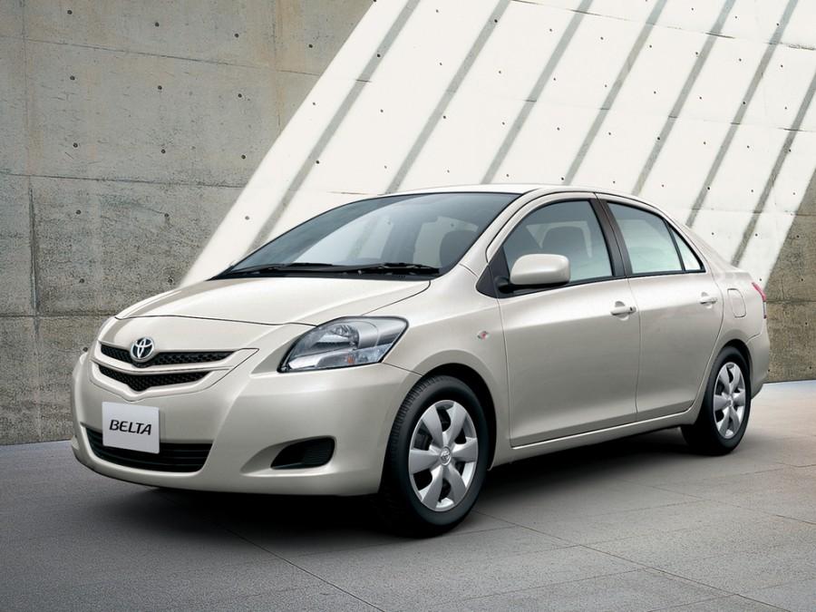 Toyota Belta седан, 2005–2008, XP90 - отзывы, фото и характеристики на Car.ru