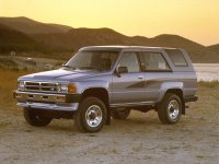 Toyota 4Runner, 1 поколение [рестайлинг], Пикап