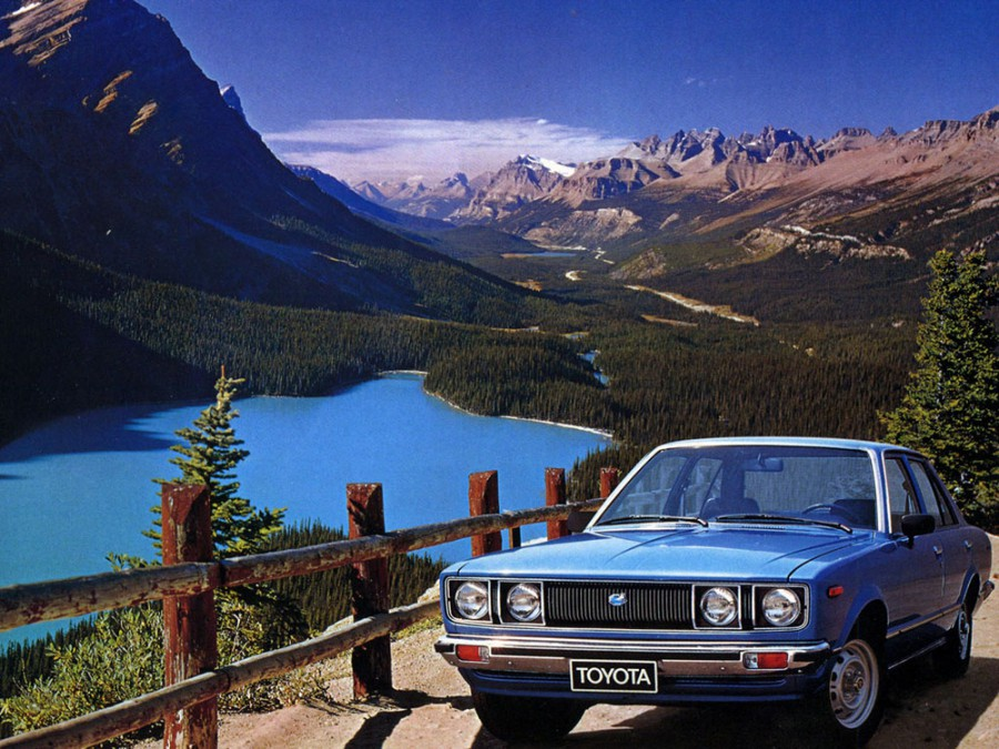 Toyota Carina седан 4-дв., 1977–1979, A40 - отзывы, фото и характеристики на Car.ru