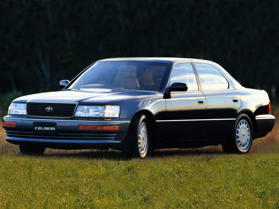 Toyota Celsior седан, 1989–1992, F10 - отзывы, фото и характеристики на Car.ru