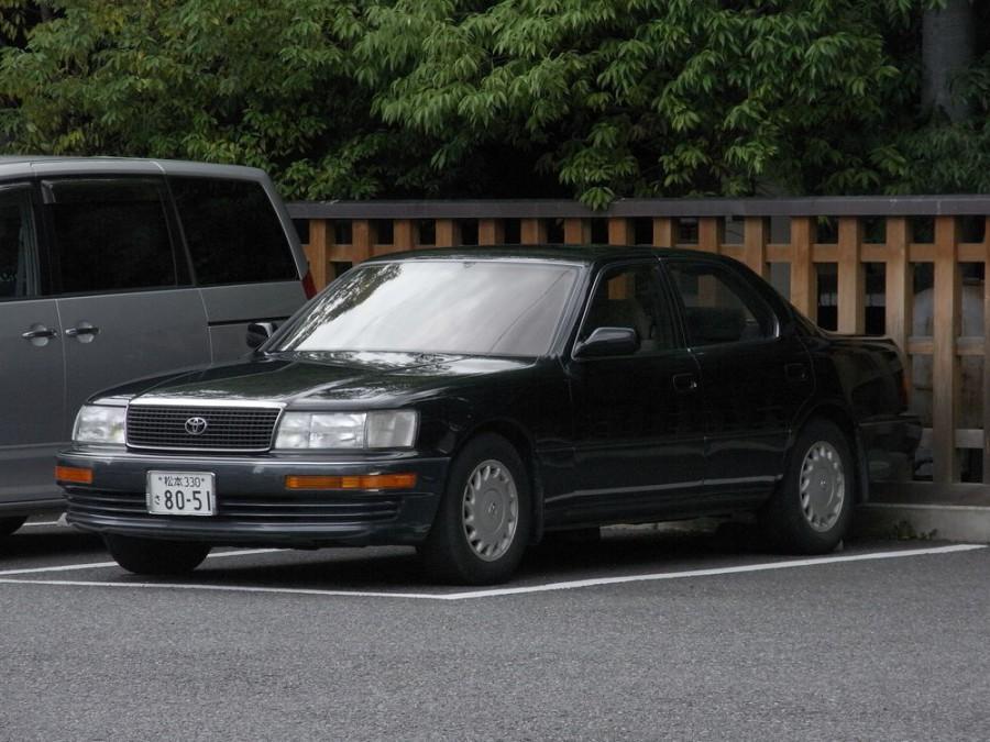 Toyota Celsior седан, 1994–1997, F20 - отзывы, фото и характеристики на Car.ru