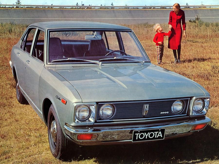 Toyota Carina седан 4-дв., 1970–1977, A10 - отзывы, фото и характеристики на Car.ru
