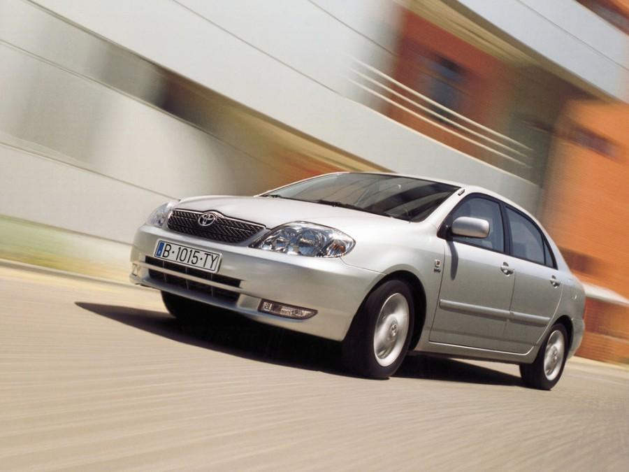 Toyota Corolla седан 4-дв., 2000–2008, E120 - отзывы, фото и характеристики на Car.ru