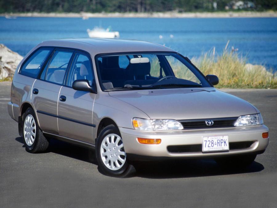 Toyota Corolla универсал, 1991–1999, E100 - отзывы, фото и характеристики на Car.ru