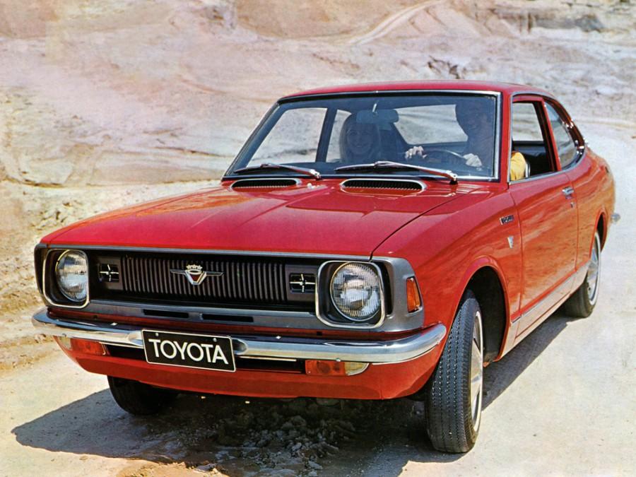 Toyota Corolla купе 2-дв., 1970–1974, E20 - отзывы, фото и характеристики на Car.ru