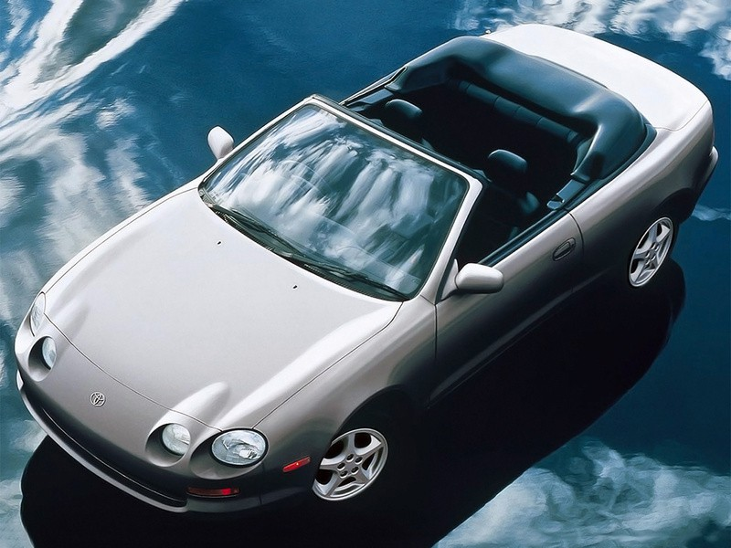 Toyota Celica кабриолет, 1993–1999, 6 поколение - отзывы, фото и характеристики на Car.ru