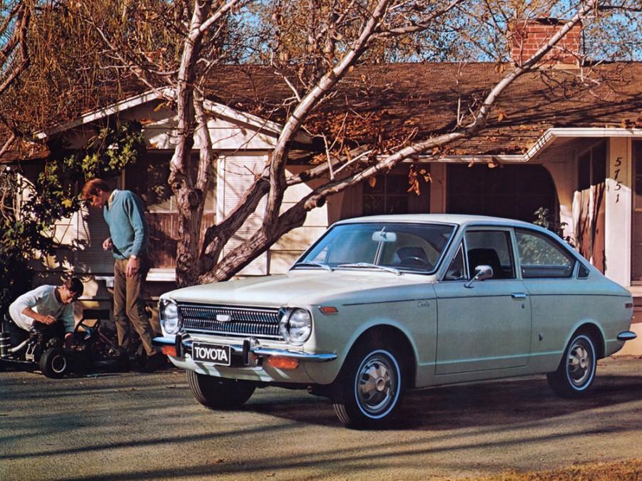 Toyota Corolla Sprinter купе, 1966–1970, E10 - отзывы, фото и характеристики на Car.ru