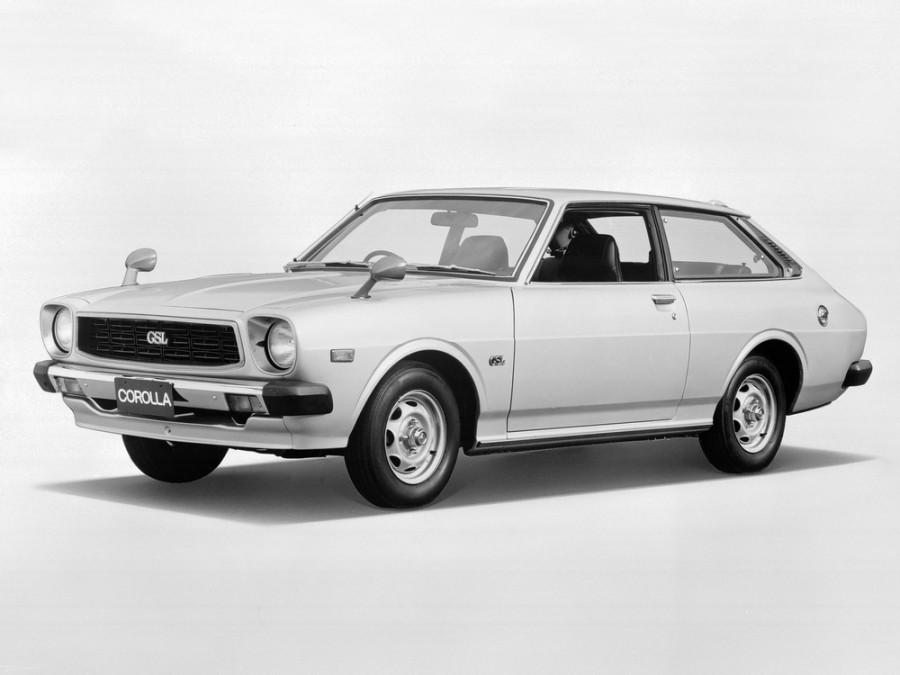 Toyota Corolla лифтбэк, 1976–1981, E50 [рестайлинг] - отзывы, фото и характеристики на Car.ru