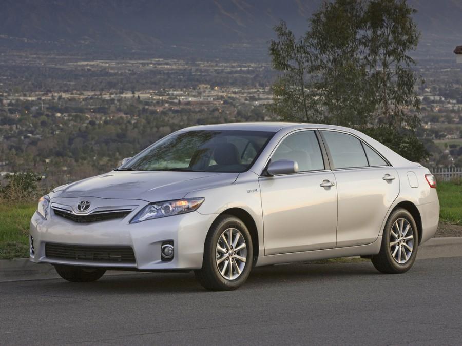 Toyota Camry Hybrid седан 4-дв., 2010–2011, XV40 [рестайлинг] - отзывы, фото и характеристики на Car.ru