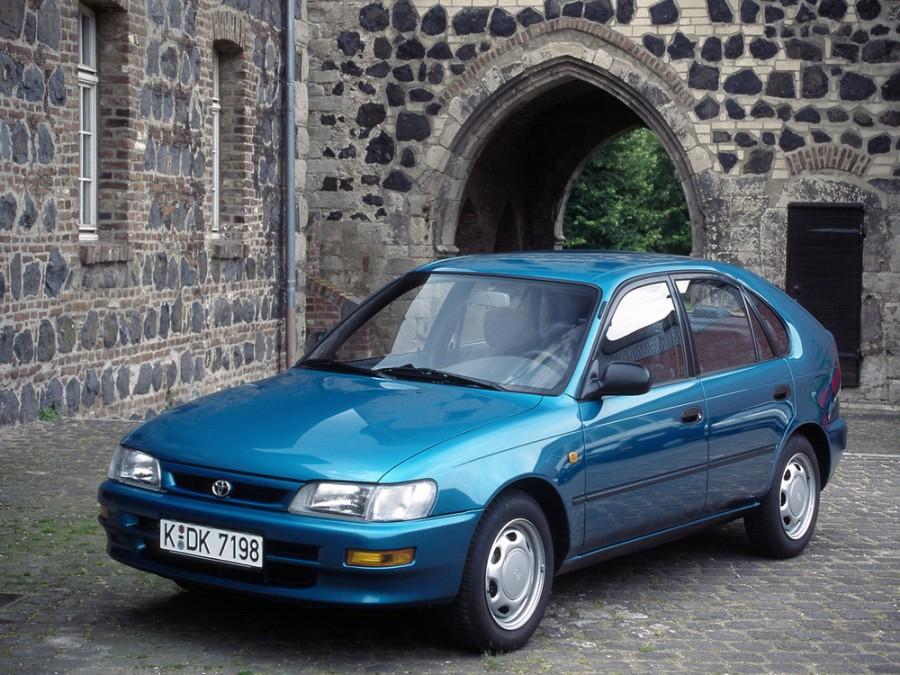 Toyota Corolla хетчбэк 5-дв., 1991–1999, E100 - отзывы, фото и характеристики на Car.ru
