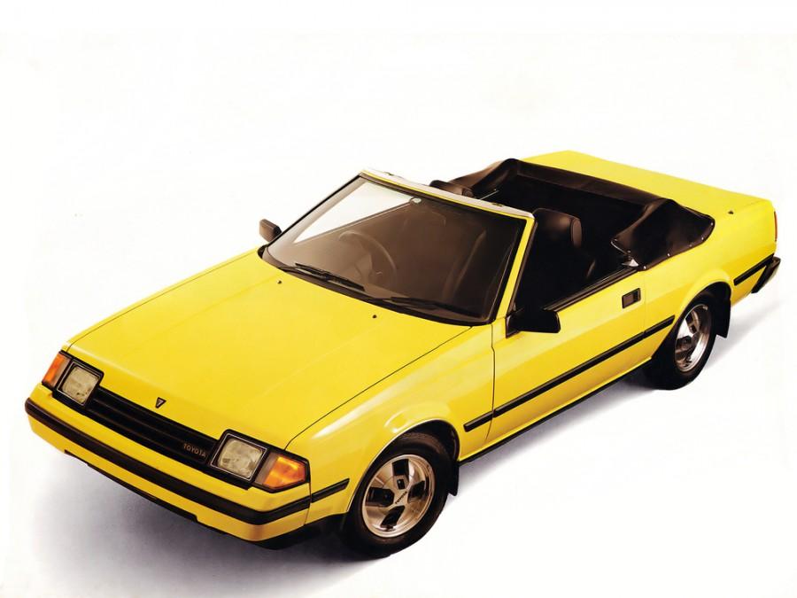 Toyota Celica кабриолет, 1981–1985, 3 поколение - отзывы, фото и характеристики на Car.ru