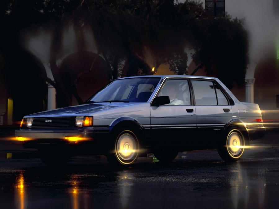 Toyota Corolla седан, 1983–1987, E80 - отзывы, фото и характеристики на Car.ru