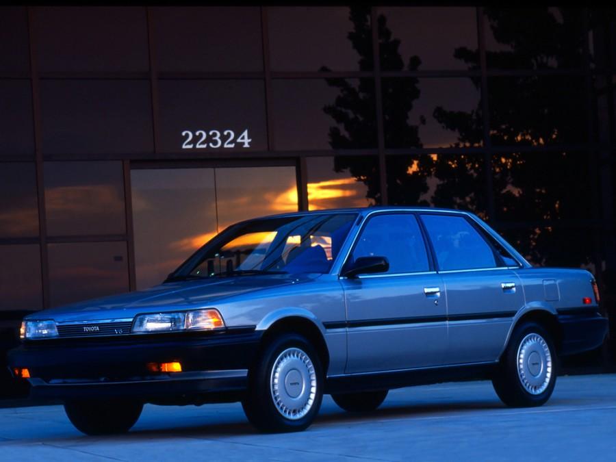 Toyota Camry седан, 1986–1991, V20 - отзывы, фото и характеристики на Car.ru