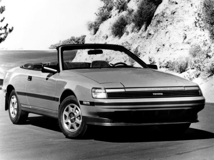 Toyota Celica кабриолет, 1985–1989, 4 поколение - отзывы, фото и характеристики на Car.ru