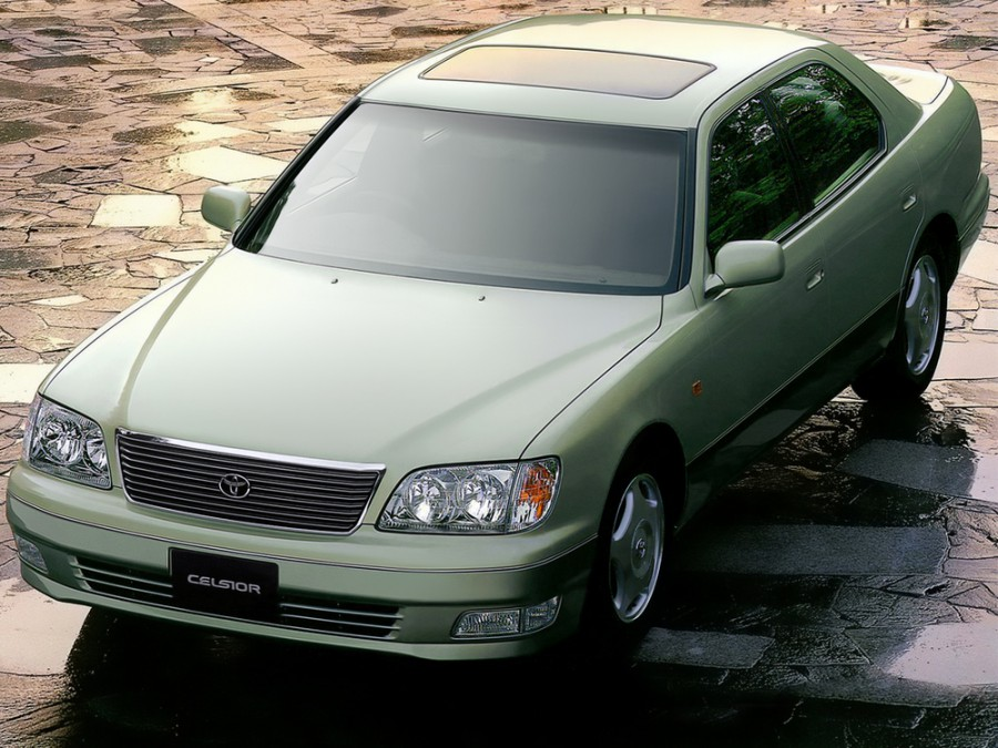 Toyota Celsior седан, 1997–2000, F20 [рестайлинг] - отзывы, фото и характеристики на Car.ru