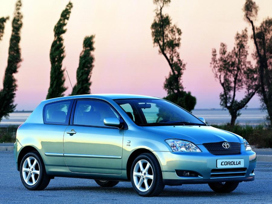 Toyota Corolla хетчбэк 3-дв., 2000–2008, E120 - отзывы, фото и характеристики на Car.ru