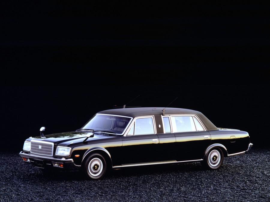 Toyota Century лимузин, 1987–1997, VG40/45 [2-й рестайлинг] - отзывы, фото и характеристики на Car.ru