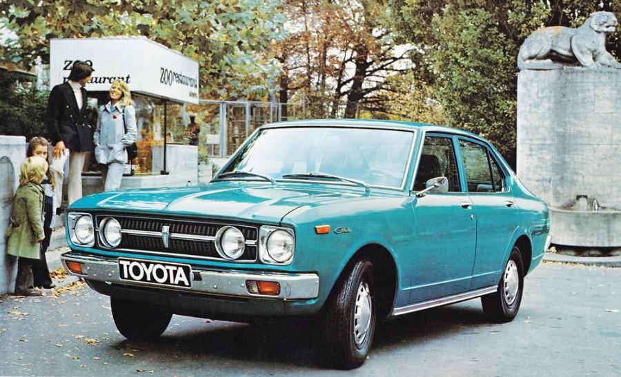 Toyota Carina седан 4-дв., 1972–1974, A10 [рестайлинг] - отзывы, фото и характеристики на Car.ru
