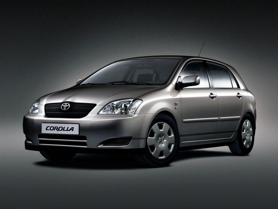 Toyota Corolla хетчбэк 5-дв., 2000–2008, E120 - отзывы, фото и характеристики на Car.ru