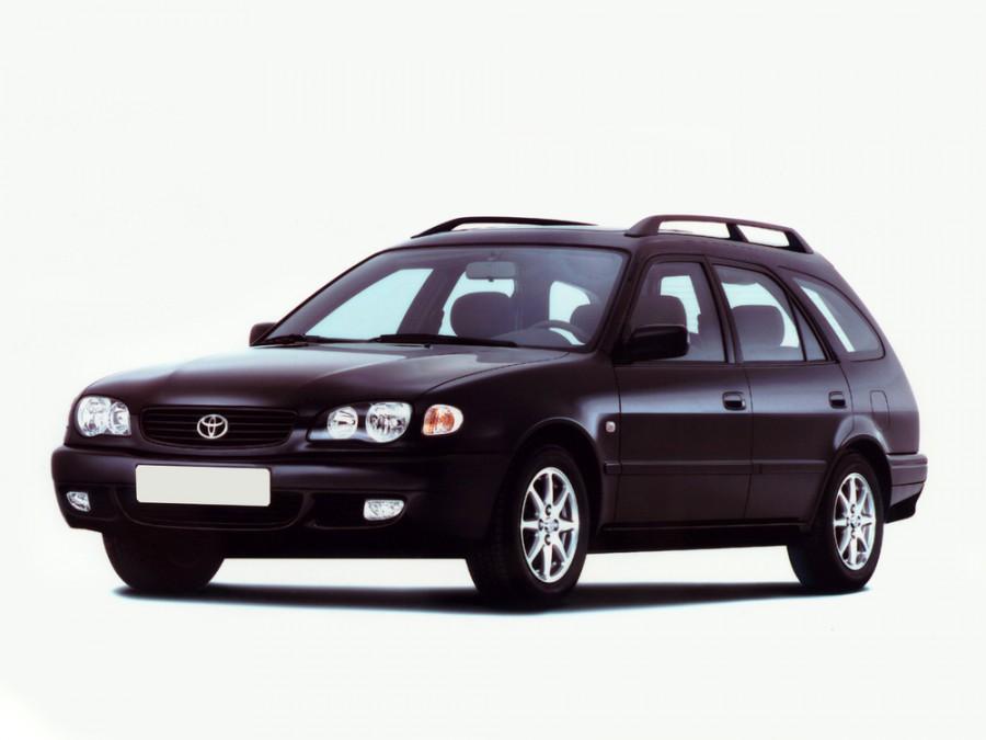 Toyota Corolla универсал, 1997–2002, E110 [рестайлинг] - отзывы, фото и характеристики на Car.ru