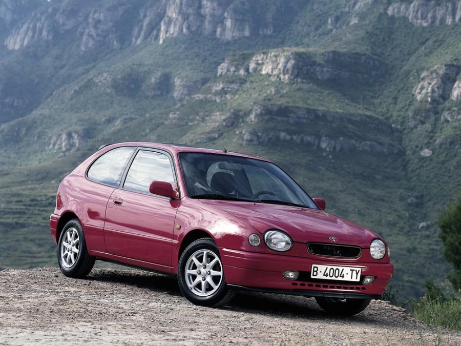 Toyota Corolla хетчбэк 3-дв., 1995–2001, E110 - отзывы, фото и характеристики на Car.ru