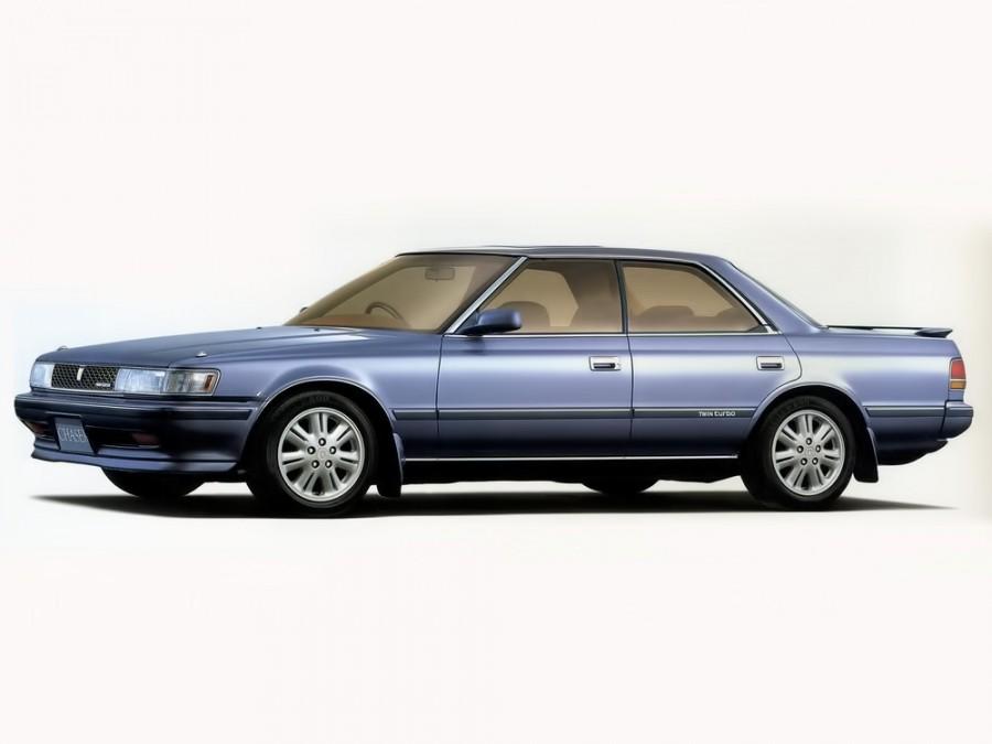 Toyota Chaser хардтоп, 1988–1992, X80 - отзывы, фото и характеристики на Car.ru