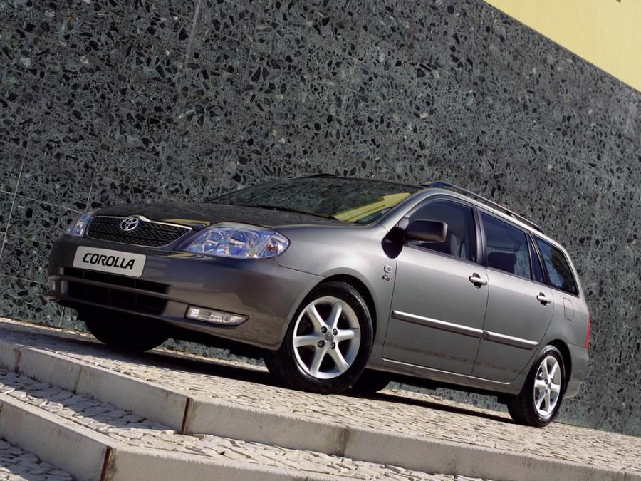 Toyota Corolla универсал 5-дв., 2000–2008, E120 - отзывы, фото и характеристики на Car.ru