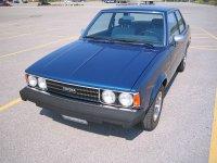 Toyota Corolla, E70, Седан 2-дв., 1979–1983