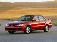Toyota Corolla, E110 [рестайлинг], Us-spec. седан 4-дв., 1997–2002