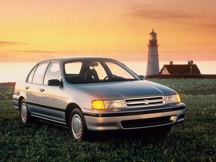 Toyota Corsa седан, 1990–1994, 4 поколение - отзывы, фото и характеристики на Car.ru
