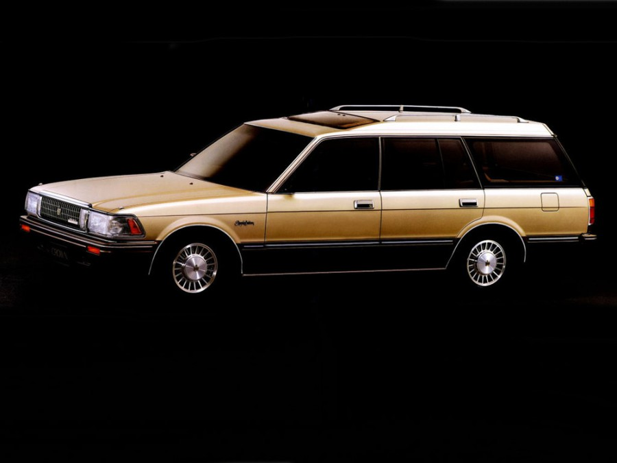 Toyota Crown JDM универсал, 1987–1991, S130 - отзывы, фото и характеристики на Car.ru