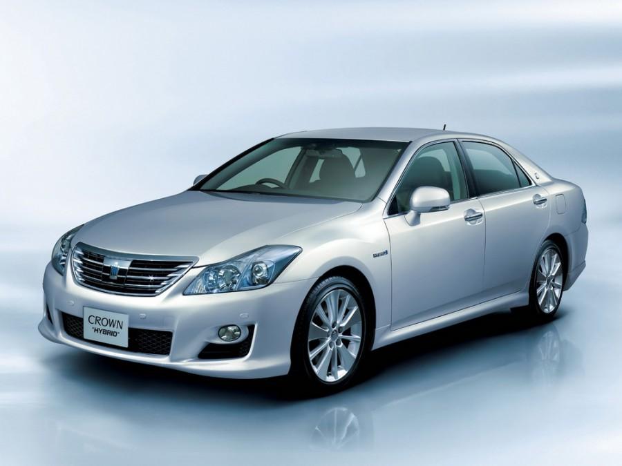 Toyota Crown JDM Hybrid седан 4-дв., 2008–2012, S200 - отзывы, фото и характеристики на Car.ru