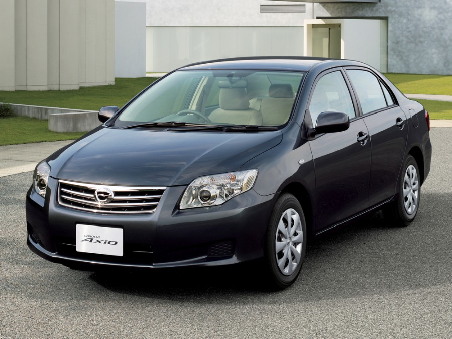 Toyota Corolla Axio седан, 2008–2012, E150 [рестайлинг] - отзывы, фото и характеристики на Car.ru