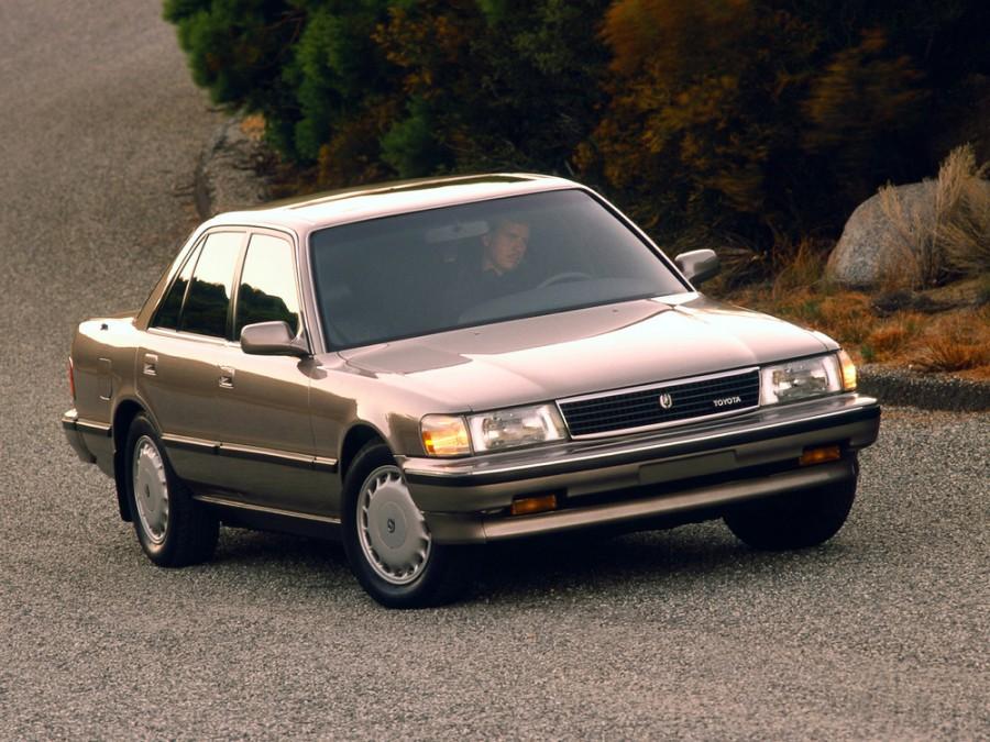 Toyota Cressida седан, 1988–1991, X80 - отзывы, фото и характеристики на Car.ru