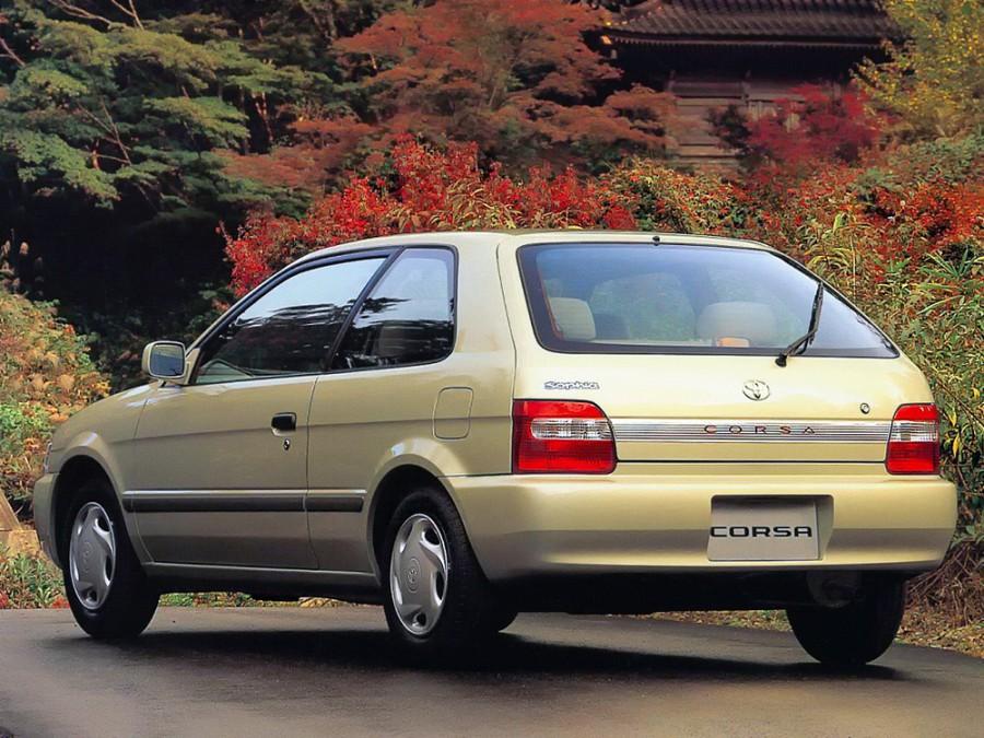 Toyota Corsa хетчбэк, 1994–1999, 5 поколение - отзывы, фото и характеристики на Car.ru
