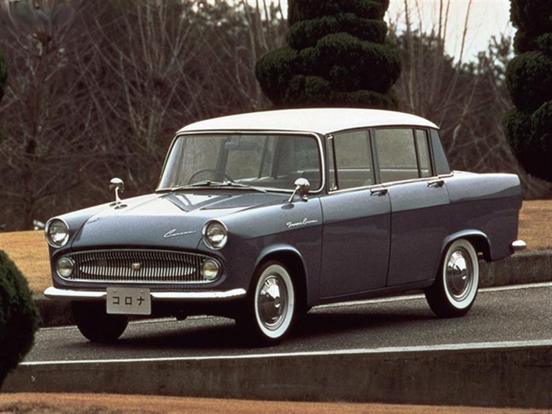 Toyota Corona седан, 1960–1964, T20 - отзывы, фото и характеристики на Car.ru