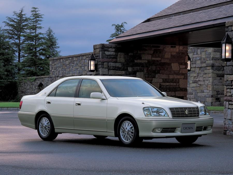 Toyota Crown седан, 2001–2003, S170 [рестайлинг] - отзывы, фото и характеристики на Car.ru