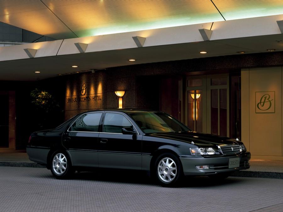 Toyota Cresta седан, 1998–2001, X100 [рестайлинг] - отзывы, фото и характеристики на Car.ru