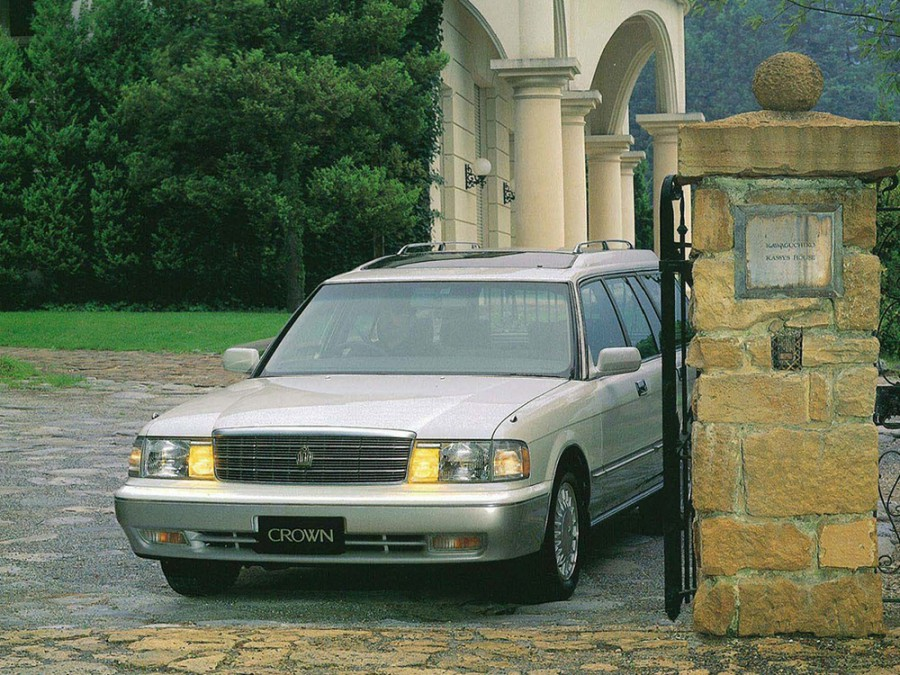 Toyota Crown JDM универсал, 1991–1999, S130 [рестайлинг] - отзывы, фото и характеристики на Car.ru