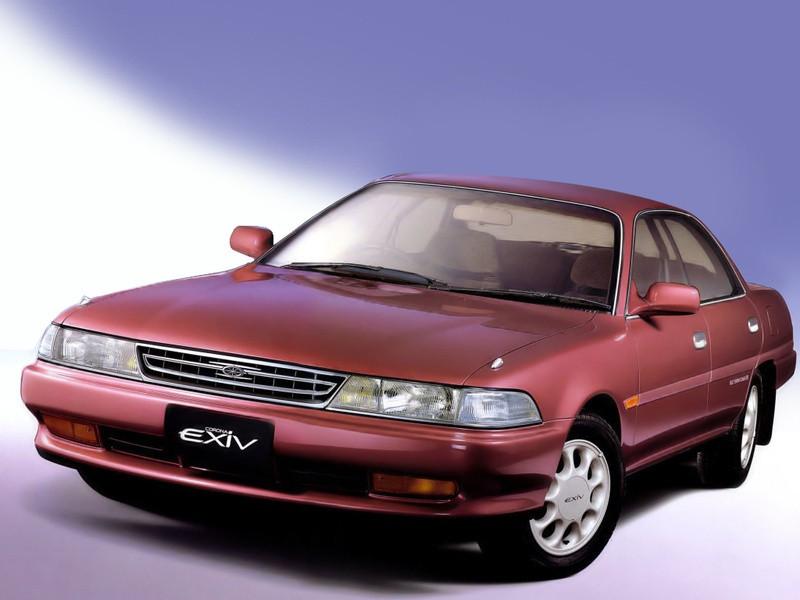 Toyota Corona EXiV седан, 1989–1993, T170 - отзывы, фото и характеристики на Car.ru