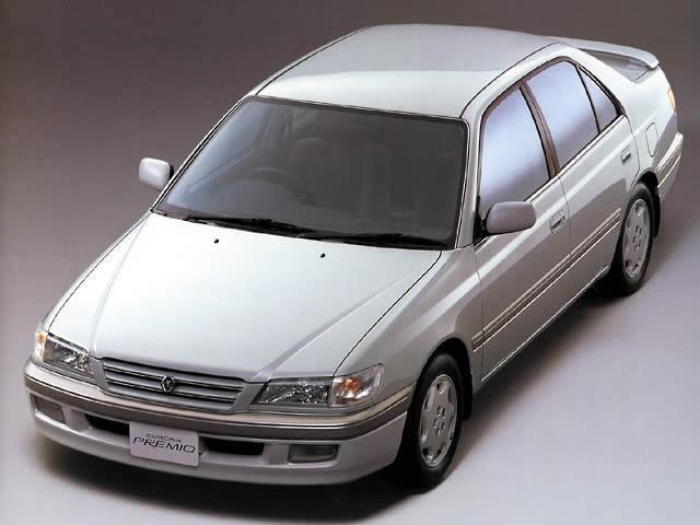 Toyota Corona Premio седан, 1997–2001, T210 - отзывы, фото и характеристики на Car.ru
