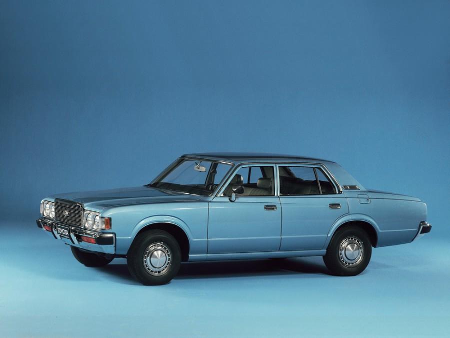 Toyota Crown седан, 1974–1978, S80 - отзывы, фото и характеристики на Car.ru