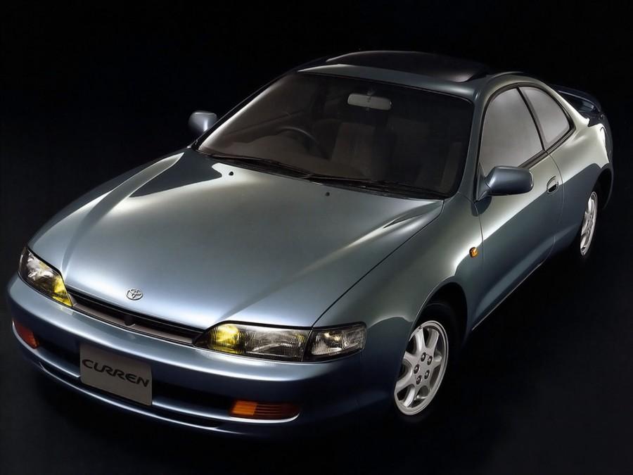 Toyota Curren купе, 1994–1995, ST200 - отзывы, фото и характеристики на Car.ru