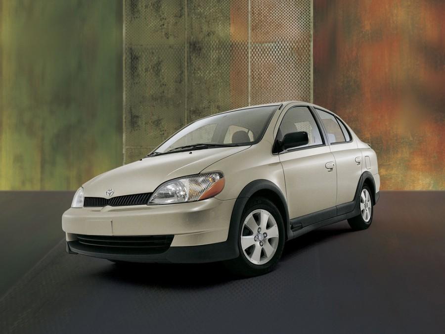 Toyota Echo седан, 1999–2003, 1 поколение - отзывы, фото и характеристики на Car.ru