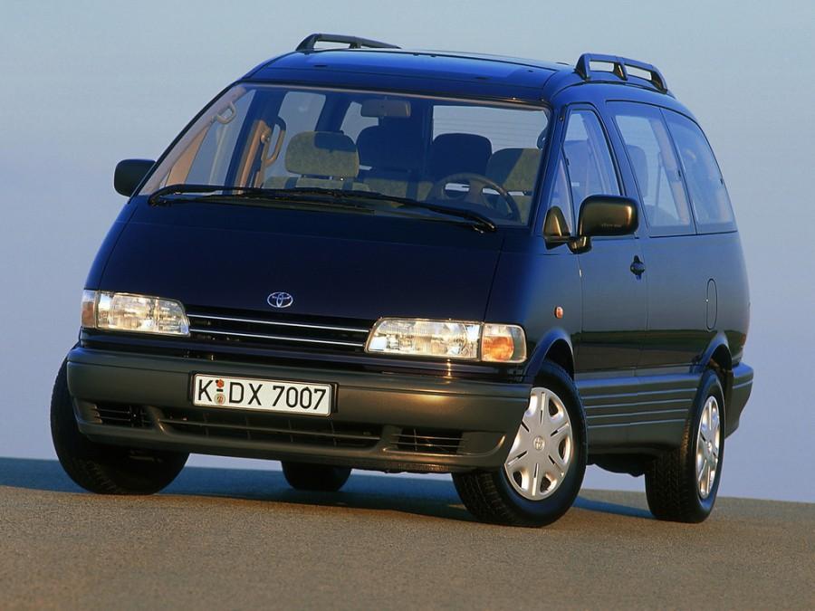 Toyota Estima минивэн, 1990–1999, 1 поколение - отзывы, фото и характеристики на Car.ru
