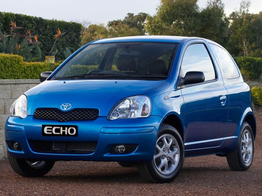 Toyota Echo хетчбэк 3-дв., 2003–2005, 1 поколение [рестайлинг] - отзывы, фото и характеристики на Car.ru