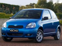Toyota Echo, 1 поколение [рестайлинг], Хетчбэк 3-дв., 2003–2005