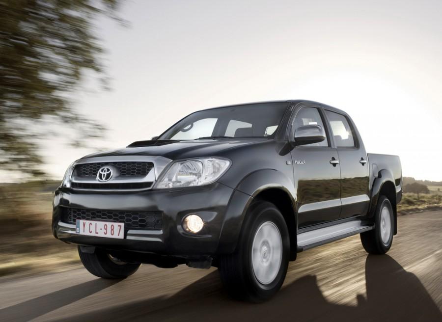 Toyota Hilux Double Cab пикап, 2008–2011, 7 поколение [рестайлинг] - отзывы, фото и характеристики на Car.ru